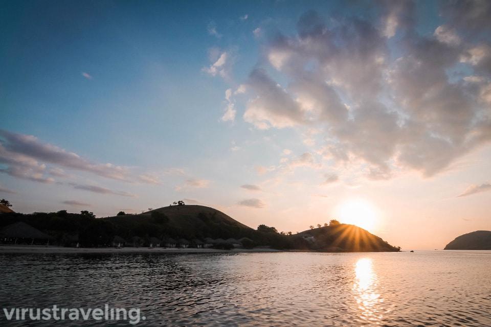 Sunset Pulau Seraya Labuan Bajo