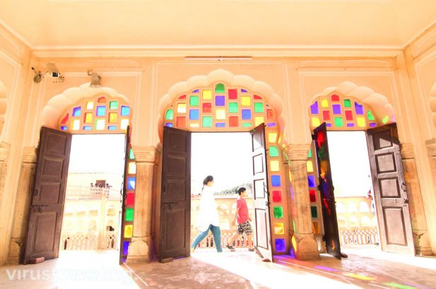 Inside of Hawa Mahal Jaipur