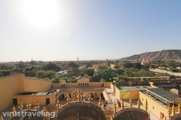 Hawa Mahal Jaipur Top View