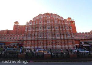 Hawa Mahal Jaipur Front View