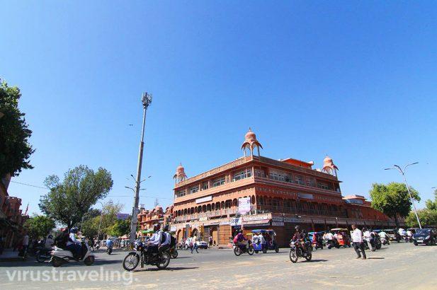 Backpacker ke Jaipur India The Pink City