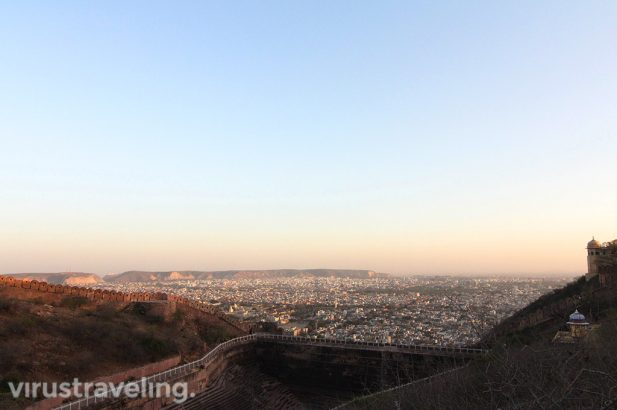 Backpacker ke India, Nahargarh Fort Top View