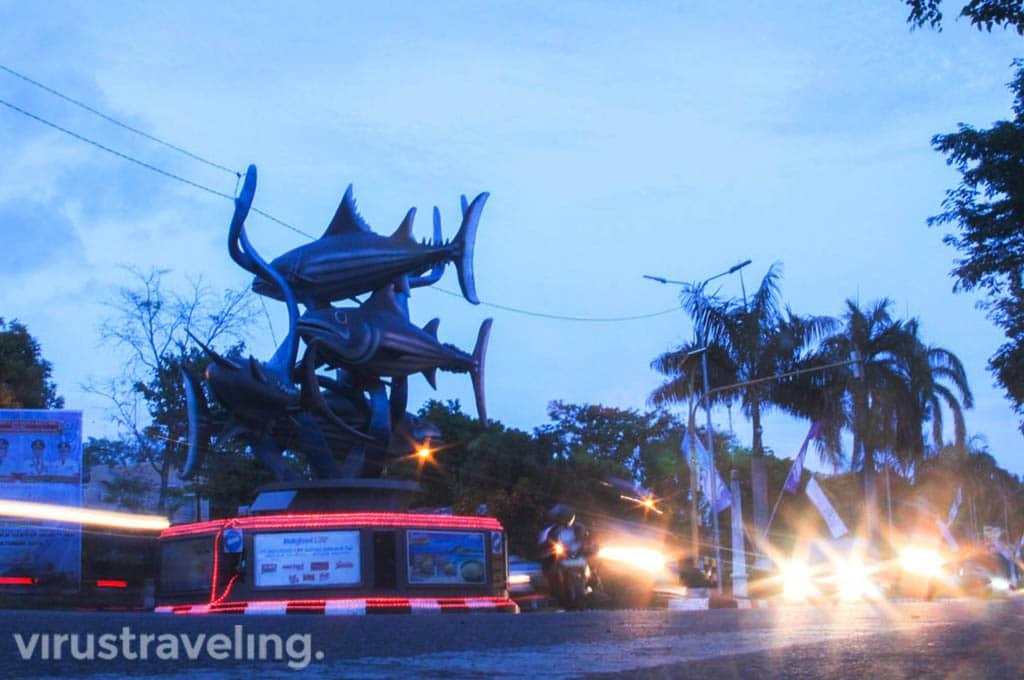 Wisata Kota Bitung Tugu Ikan Cakalang