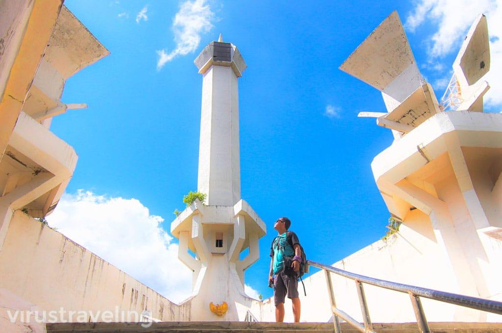 Wisata Kota Bitung Monumen Trikora Pulau Lembeh