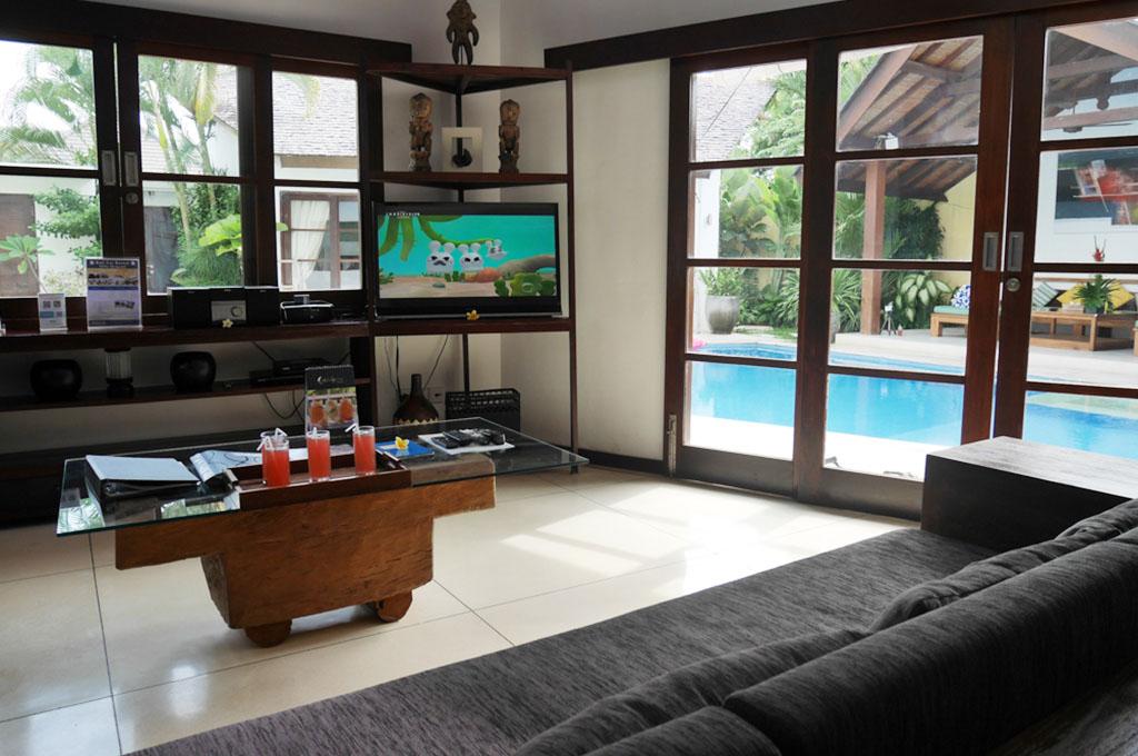 Living Room Villa Origami Seminyak