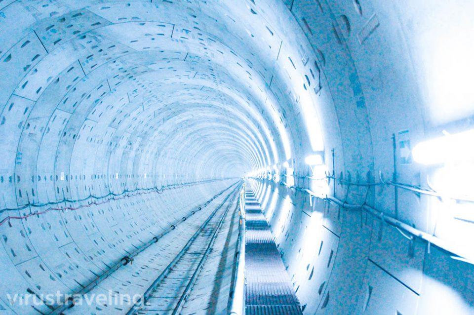 Terowongan MRT di Jakarta
