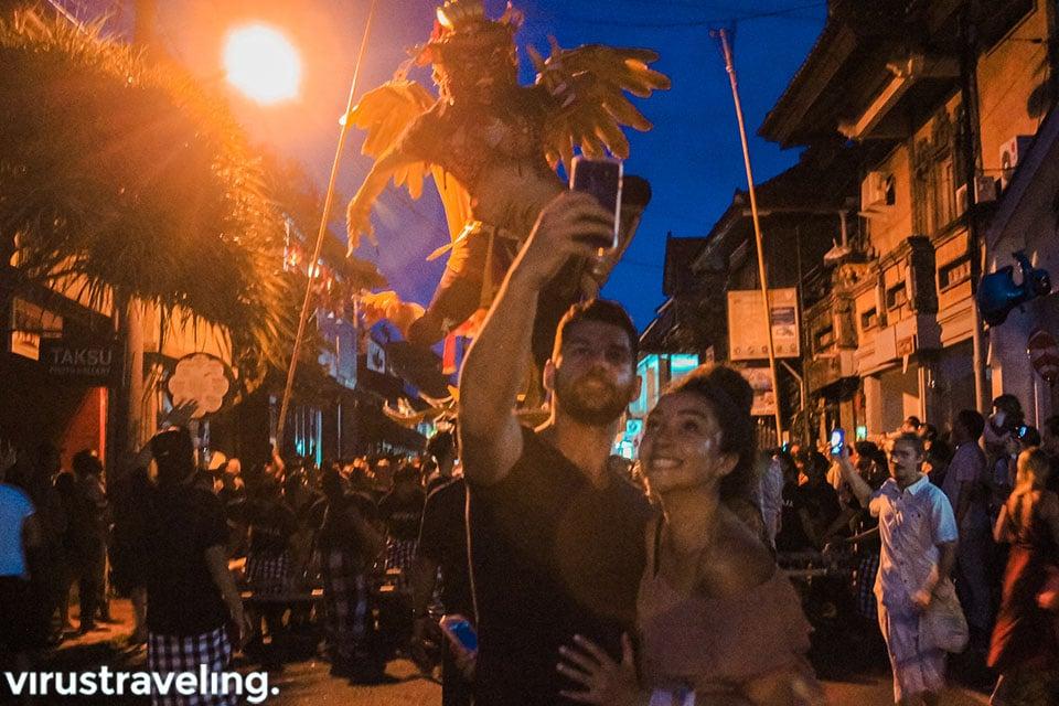 Wisatawan mancanegara antusias mengikuti Nyepi di Bali