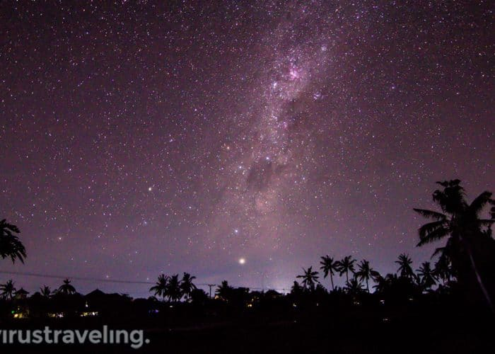 Langit Malam saat Nyepi di Bali
