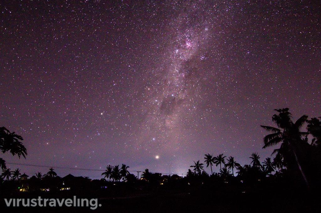 Langit Saat Suasana Nyepi di Bali