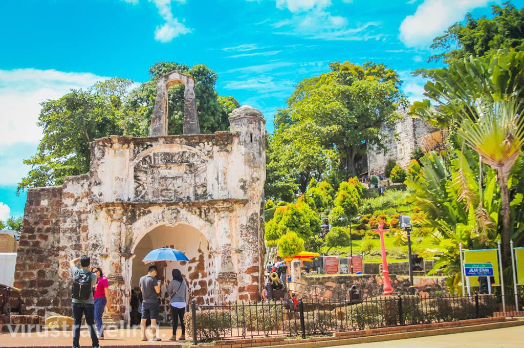 Wisata Melaka Malaysia: Porta de Santiago