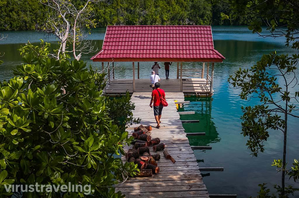Danau Mariona Pulau Togean