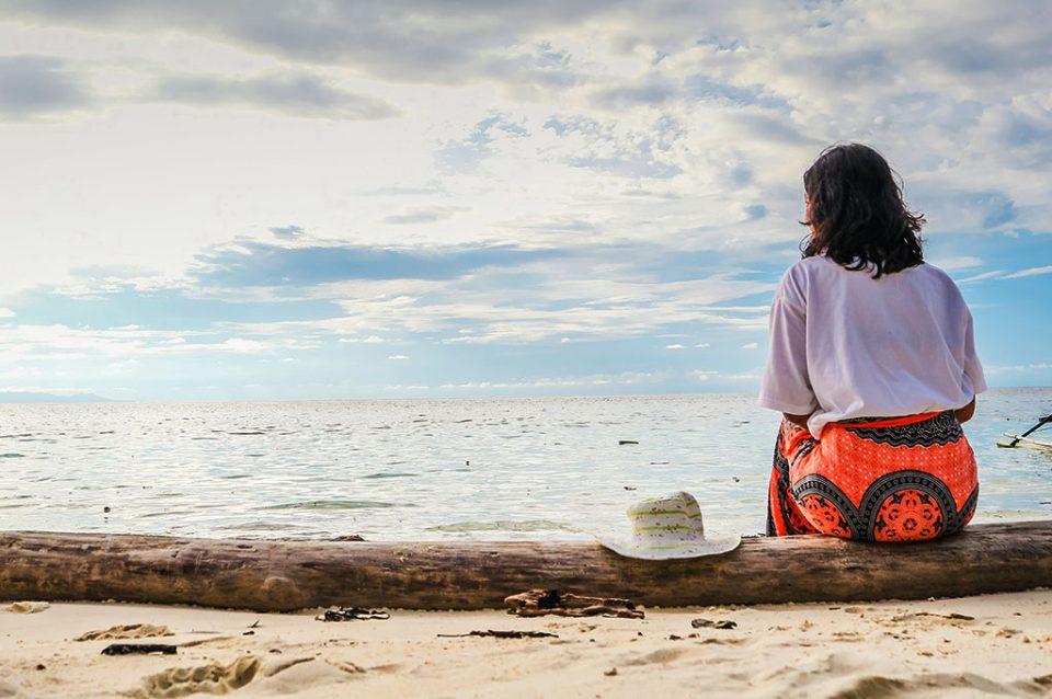 Littlenomadid di Pantai Karina Togean