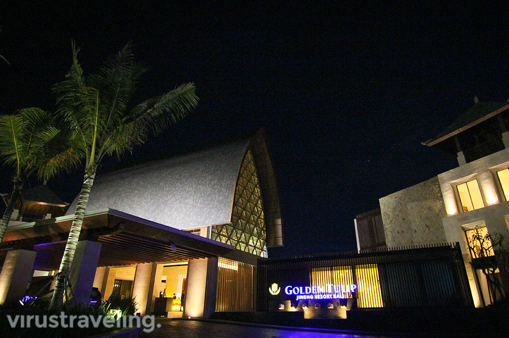 Golden Tulip Jineng Bali Entrance