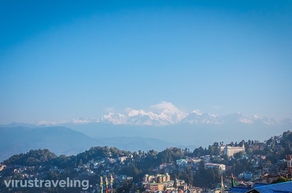 Kangchenjunga Mount from Youth Hostel