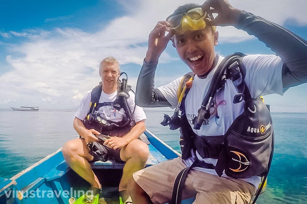 Diving at Togean Islands