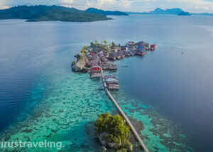 View Drone Pulau Papan