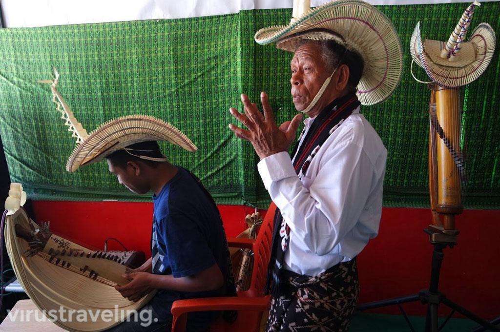 Alat Musik Sasando Kupang NTT