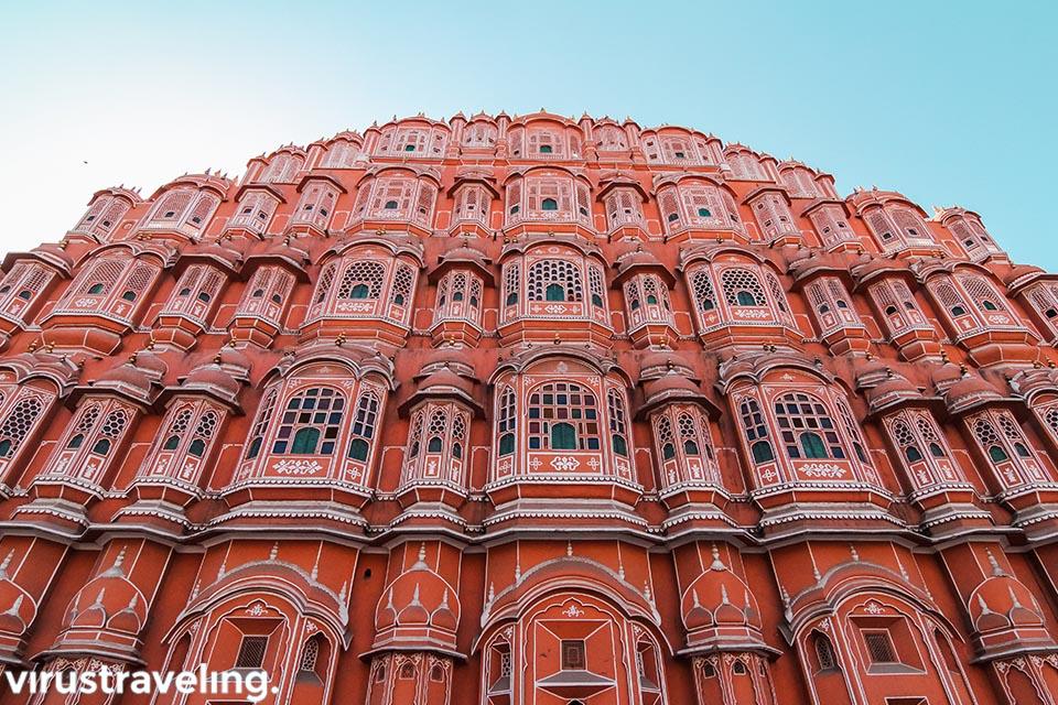 Cantiknya Hawa Mahal tampak depan