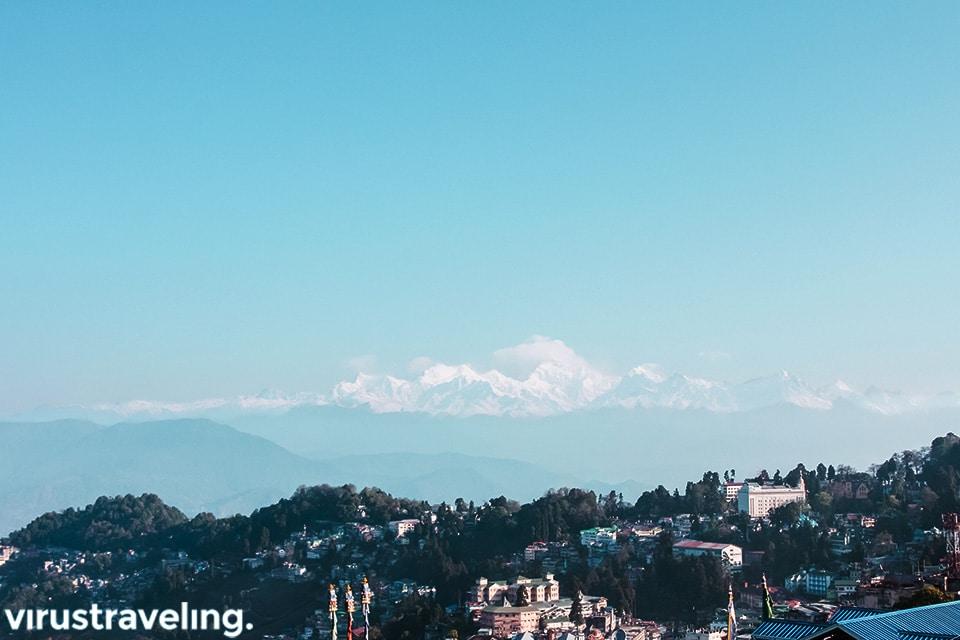 Darjeeling view Mount Kangchenjunga