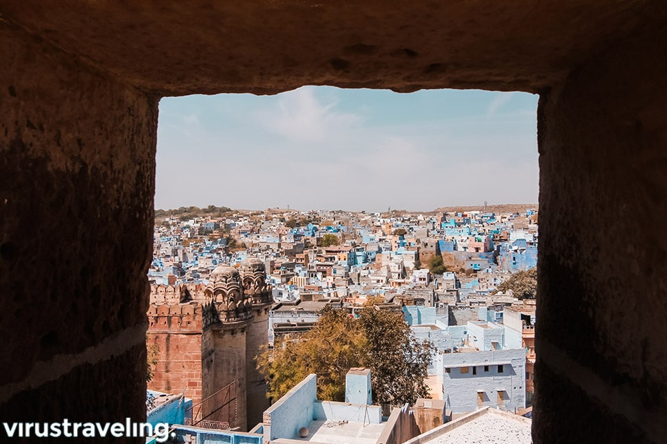 Jodhpur from Mehrangarh Fort