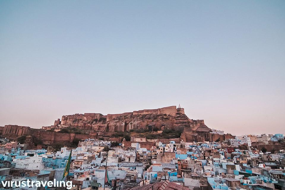 Mehrangarh Fort Jodhpur the blue city