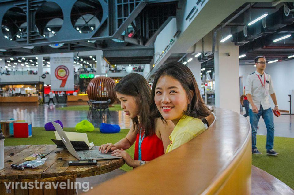 Staff RedQ AirAsia Headquarter