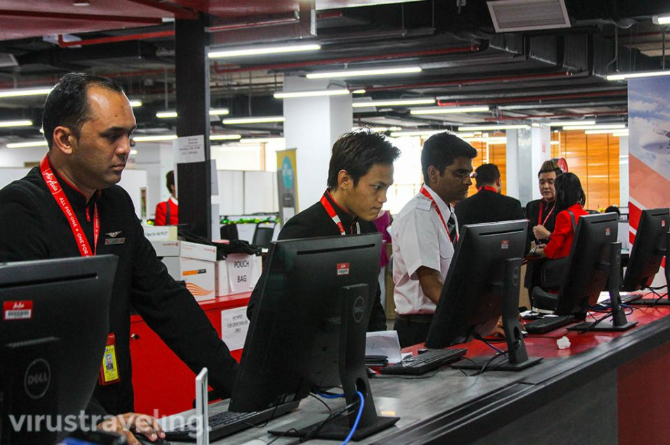 Aktifitas Staff di RedQ Headquarter AirAsia