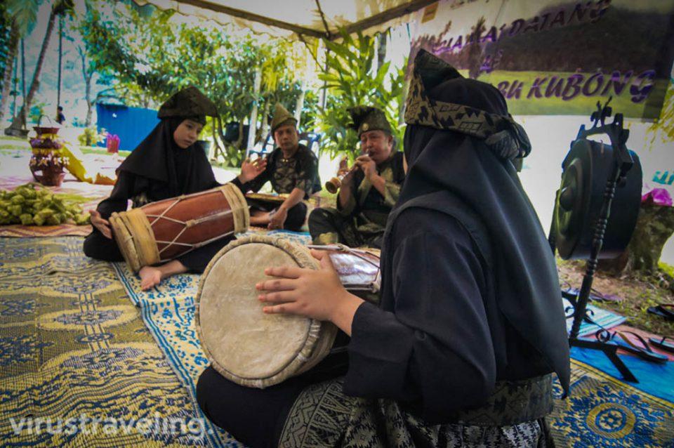 Musik tradisional kampung Labu Kubong