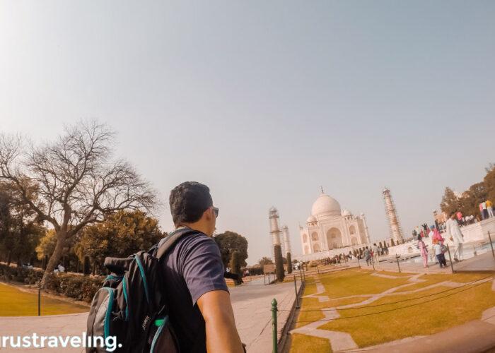 Trip ke India Taj Mahal