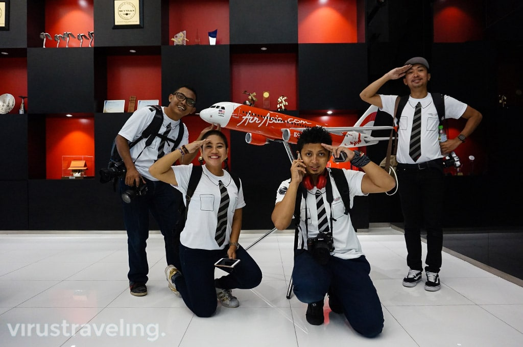 Travel Blogger at RedQ AirAsia Headquarter