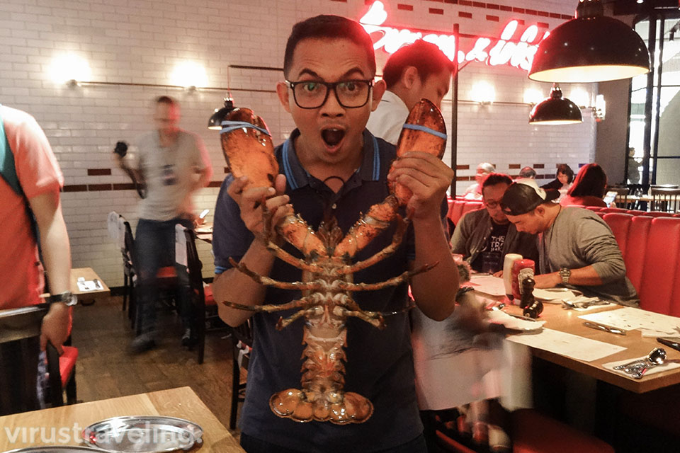 Burger and Lobster Genting Highland Virustraveling