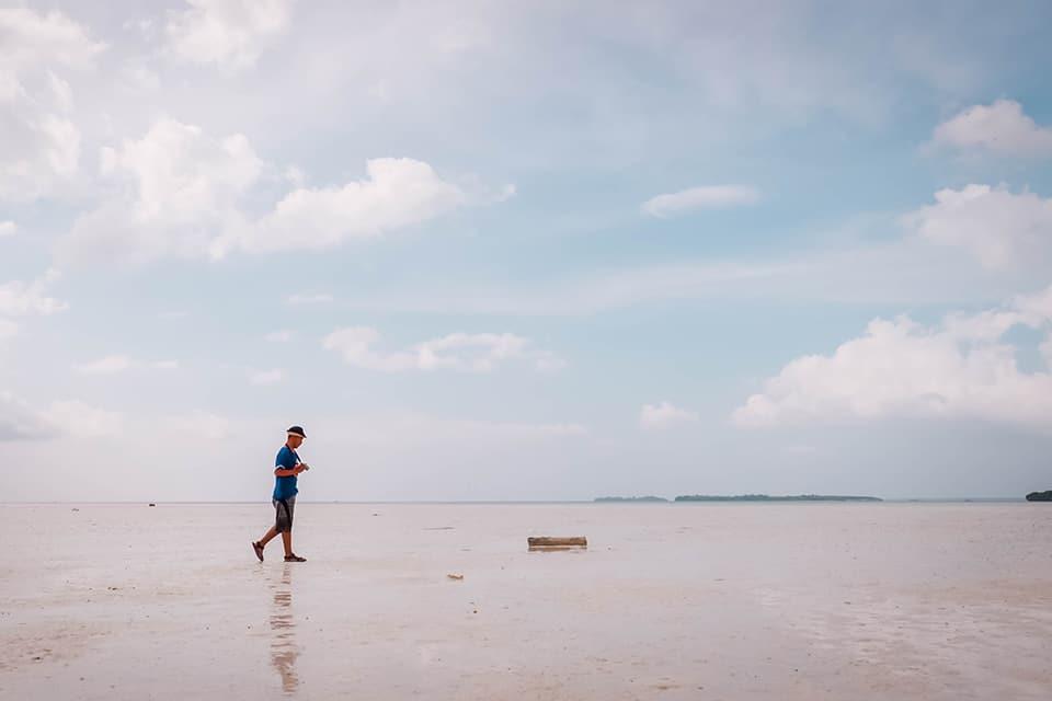 Meti Pantai Ohoidertawun Pulau Kei