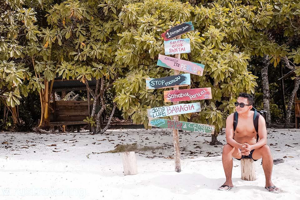 Pantai Ohoidertawun Kepulauan Kei