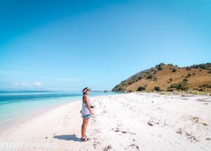 Pasir Pantai Pulau Sabolo Labuan bajo