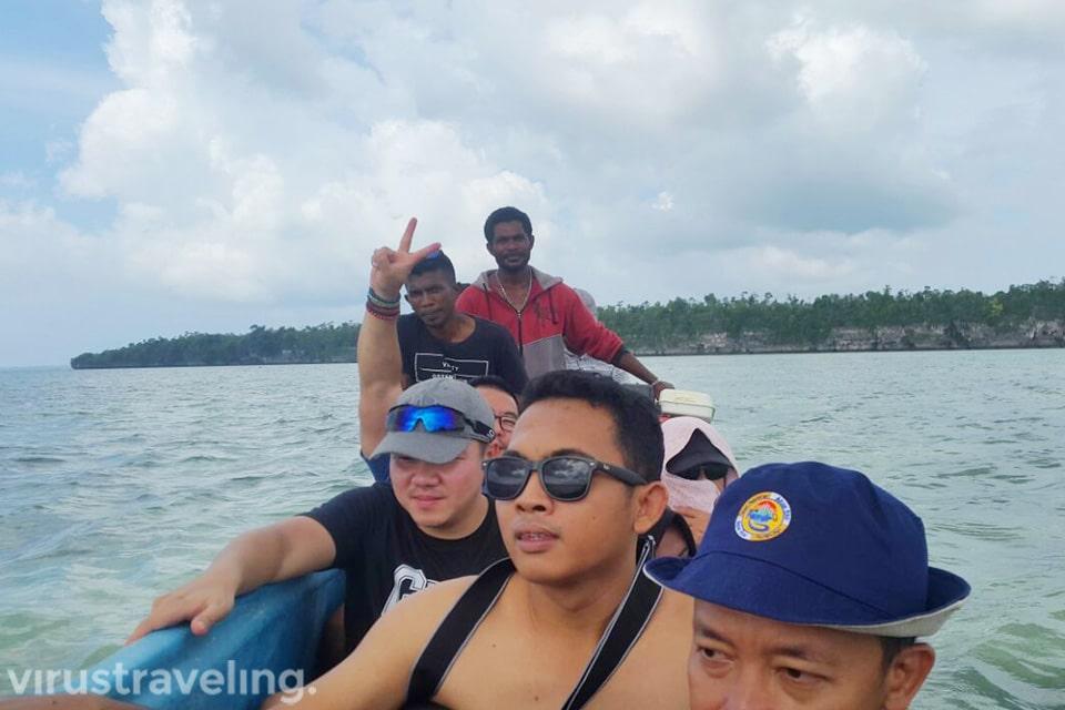 Sampan Menuju Jejak Tangan Leluhur Pulau Kei
