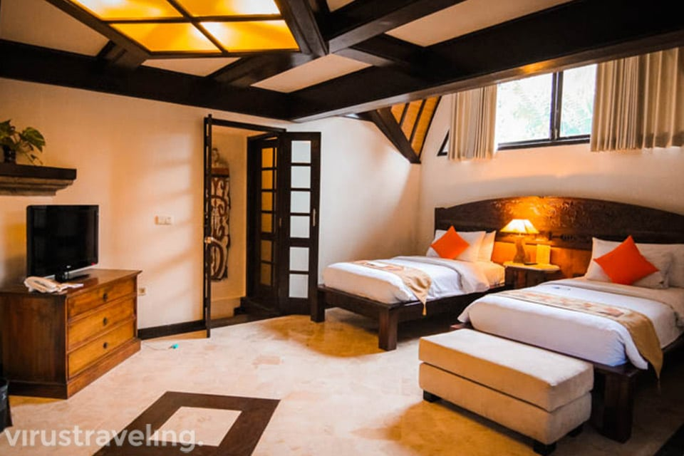 Second Bedroom Hotel Vila Lumbung