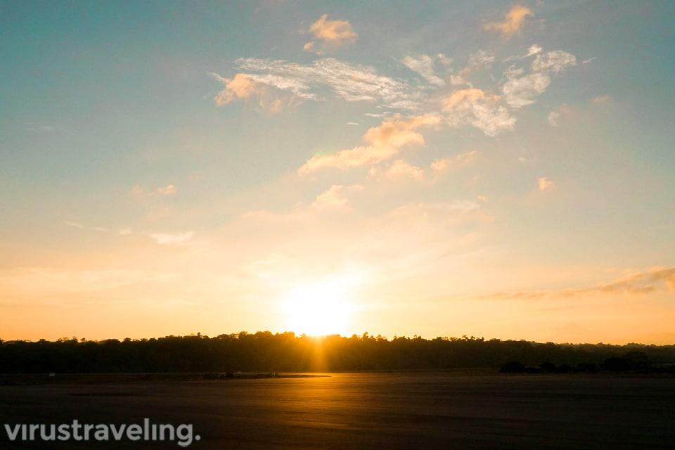 Sunset di Pulau Kei