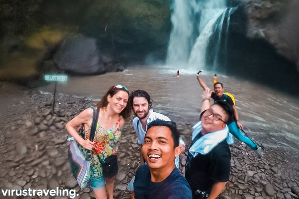 Travel Blogger Internasional di Tegenungan