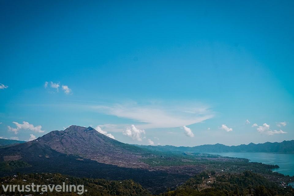 Pemandangan Penelokan Gunung Batur Kintamani