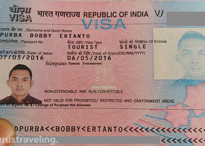 Cara Bikin Visa India