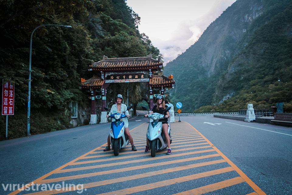 Gerbang Taman Nasional Taroko Gorge