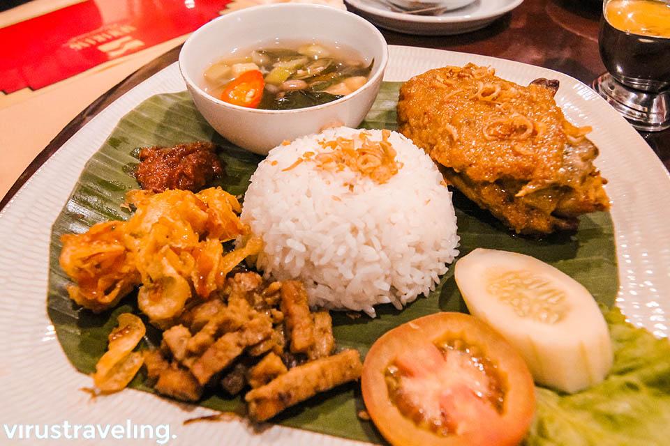 Itinerary Semarang ke Restoran Semarang