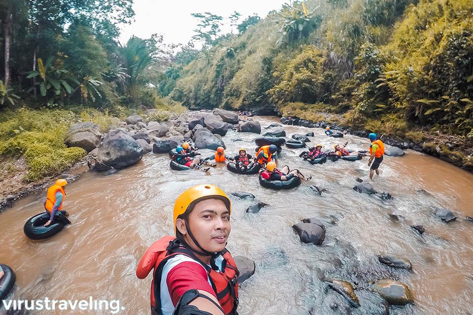River Tubing di Kali Kreo