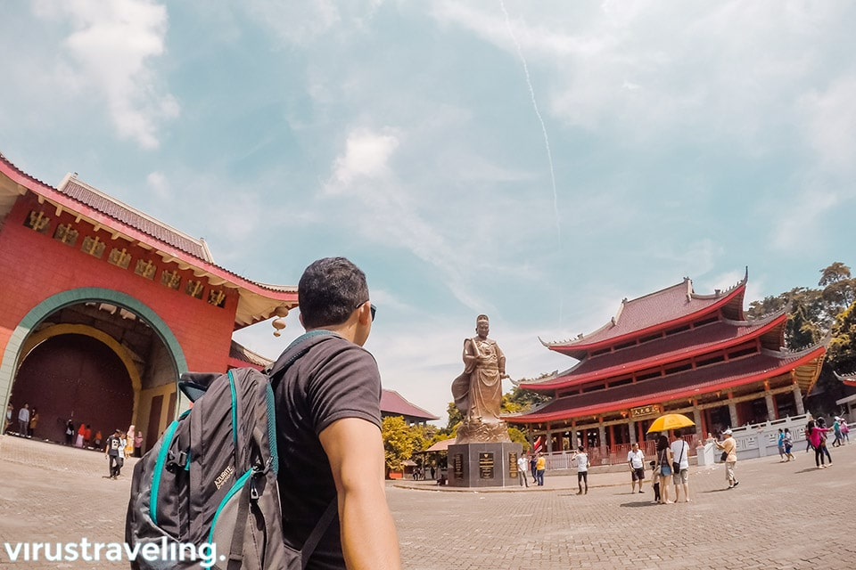 Itinerary Semarang ke Klenteng Sam Poo Kong