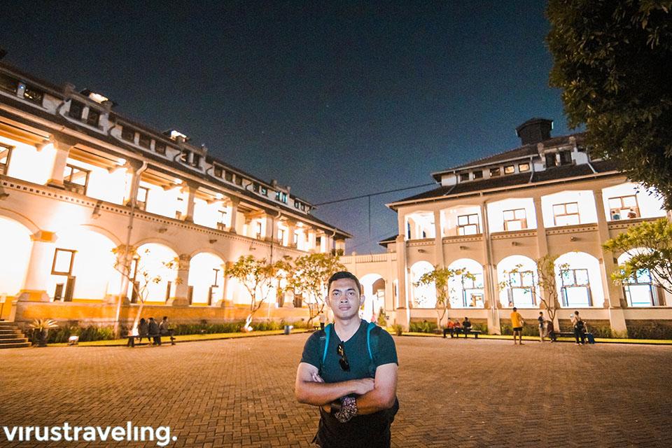 Itinerary Semarang berwisata malam ke Lawang Sewu