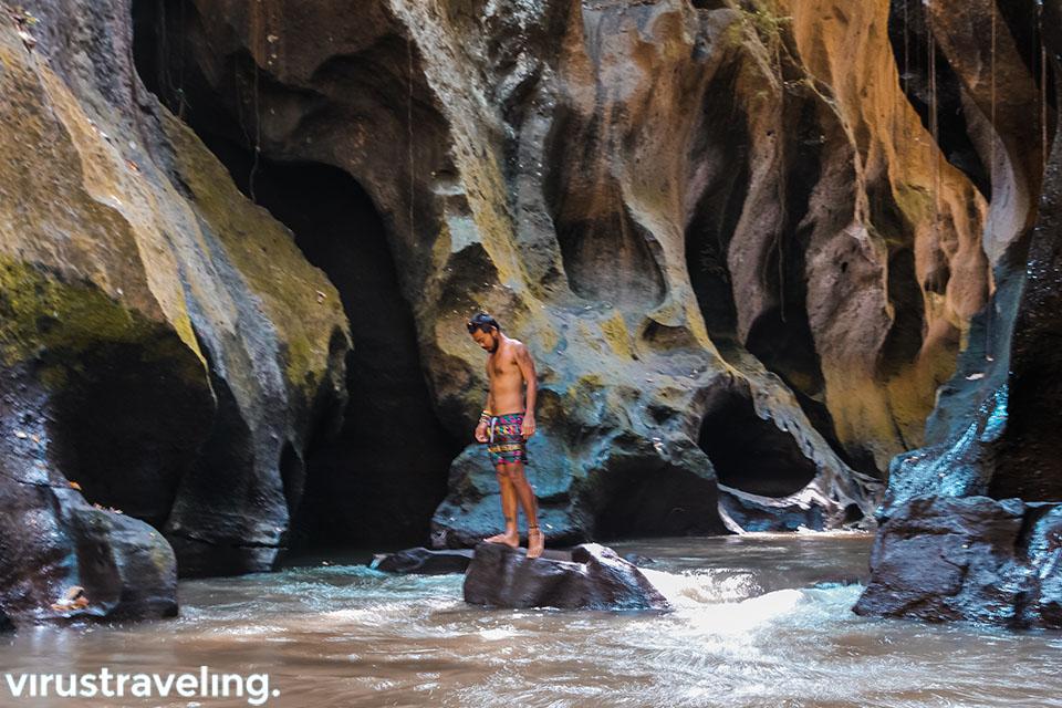Harry Kawanda di Hidden Canyon Beji Guwang