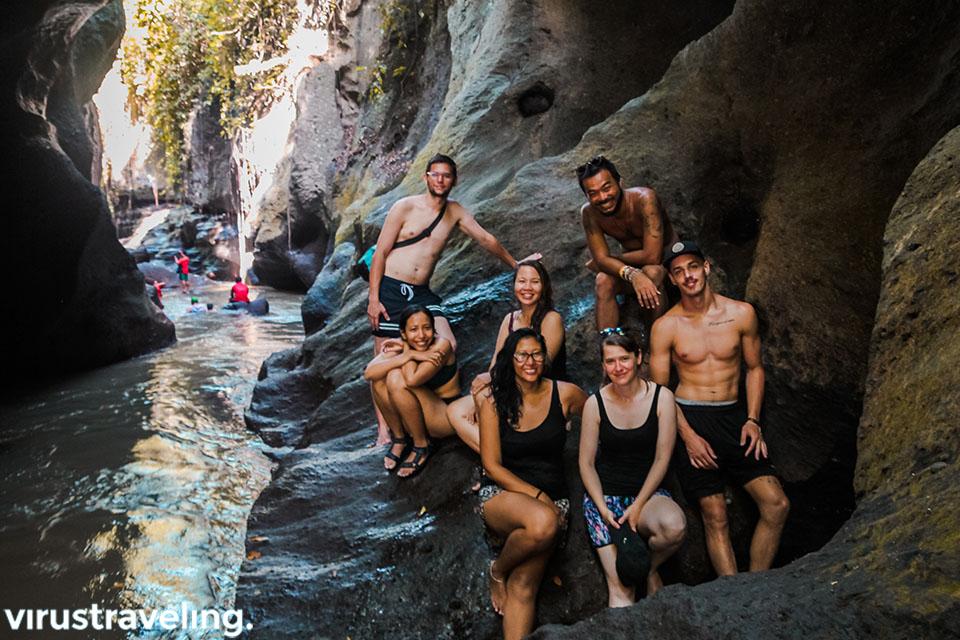 Liburan Bali ke Hidden Canyon Beji Guwang