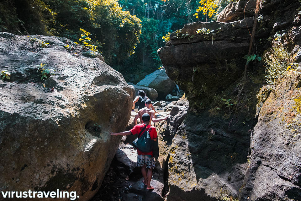 explore hidden canyon bali