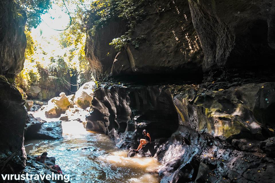 Mulai petualangan di Hidden Canyon Beji Guwang