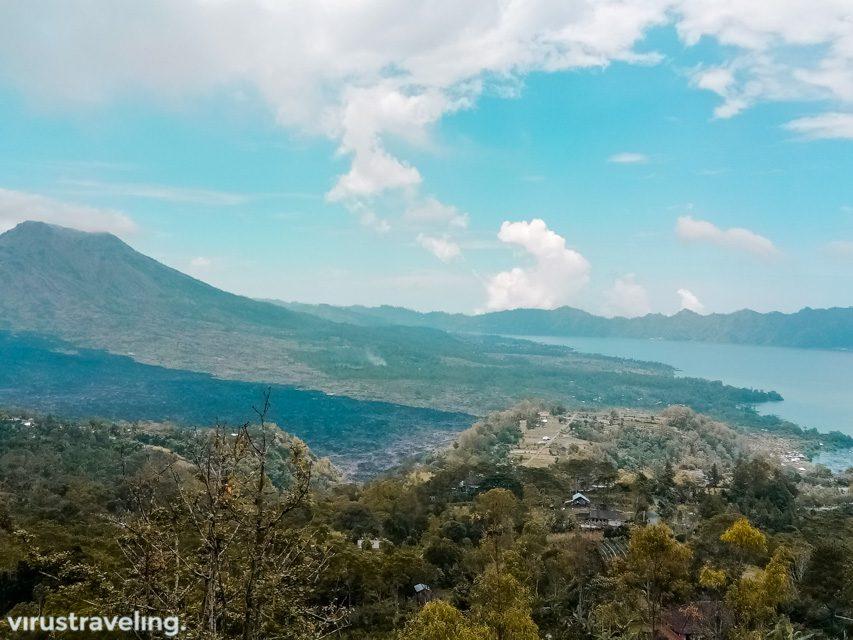 Pemandangan dari Penelokan Kintamani
